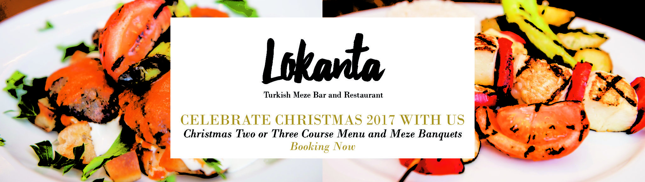 Christmas Menus – now booking for lunchtime and evening meals
